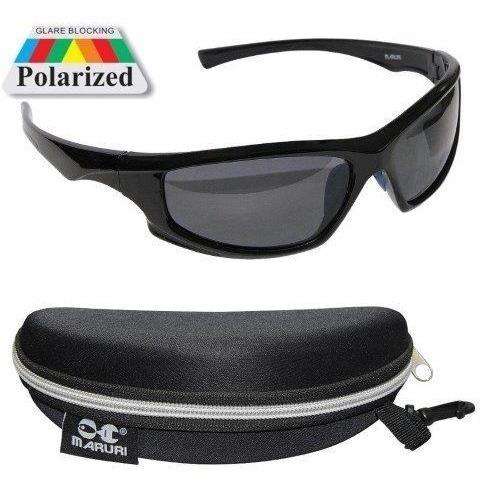 oculos polarizado maruri -   pesca (   cor preto )..