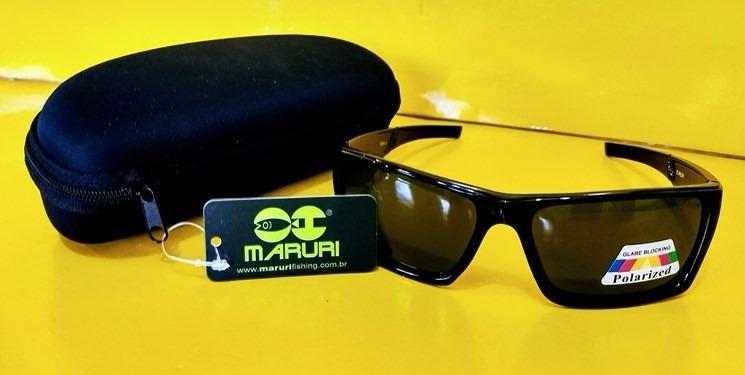 e8aa06a42 Óculos Polarizado Maruri Pra Pesca Ultra Violeta Sol Praia - R$ 56,96 ...