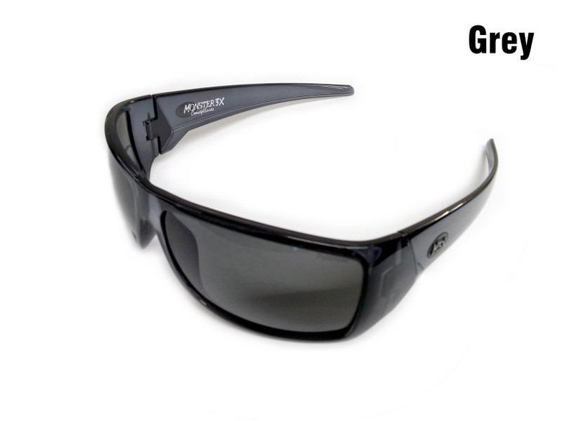 d7369be069a08 óculos polarizado monster 3x lente preta + caixinha rígida. Carregando zoom.