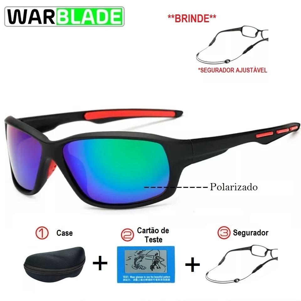 cea43ebeca3bd Óculos Polarizado Para Pesca E Sports + Brinde - R  79