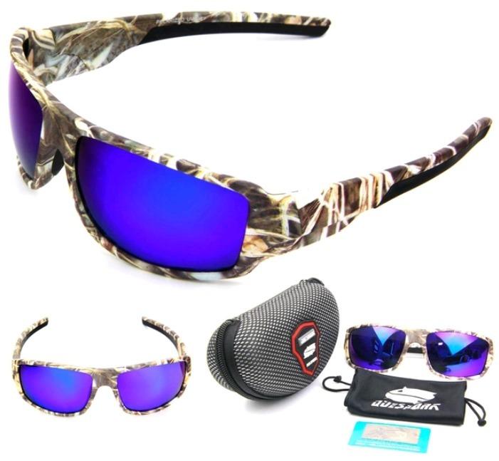 6ebd801231d0a Oculos Polarizado Pesca Queshark Ou Newboler Camo + Brinde - R  100 ...