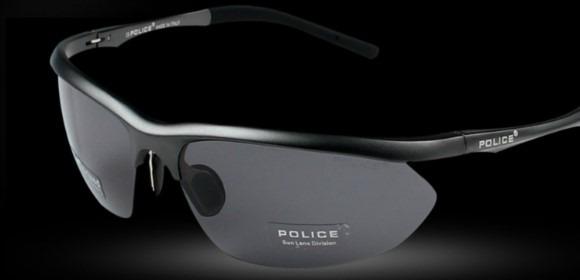 Óculos Police Masculino Polarizado Com 100% Proteção Uva Uvb - R ... f433ab8803