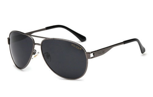 1229dd873 Oculos Police P177 Cinza Escuro - Frete Grátis!!! - R$ 120,00 em ...