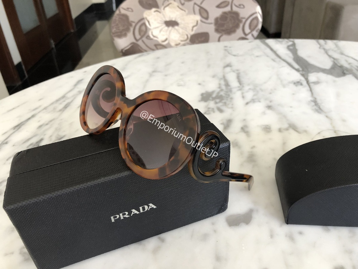 Oculos Prada Baroque Original Tortoise Black Friday - R  599,00 em ... 11ee499836