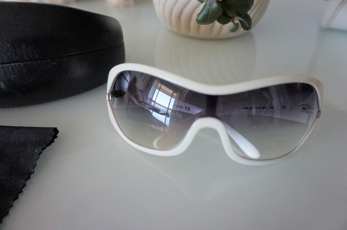 bedb6c988917f Óculos Prada Branco Spr 12g Original - R  270