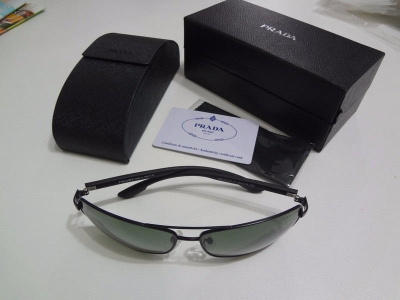 d872c1e3a80fe oculos prada masculino na caixa. Carregando zoom.