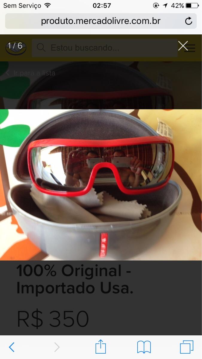 cbe815c757f37 Óculos Prada Original - R  360,00 em Mercado Livre