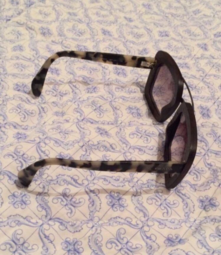 5a0e7dad70735 óculos prada original madeira e tartaruga. Carregando zoom.