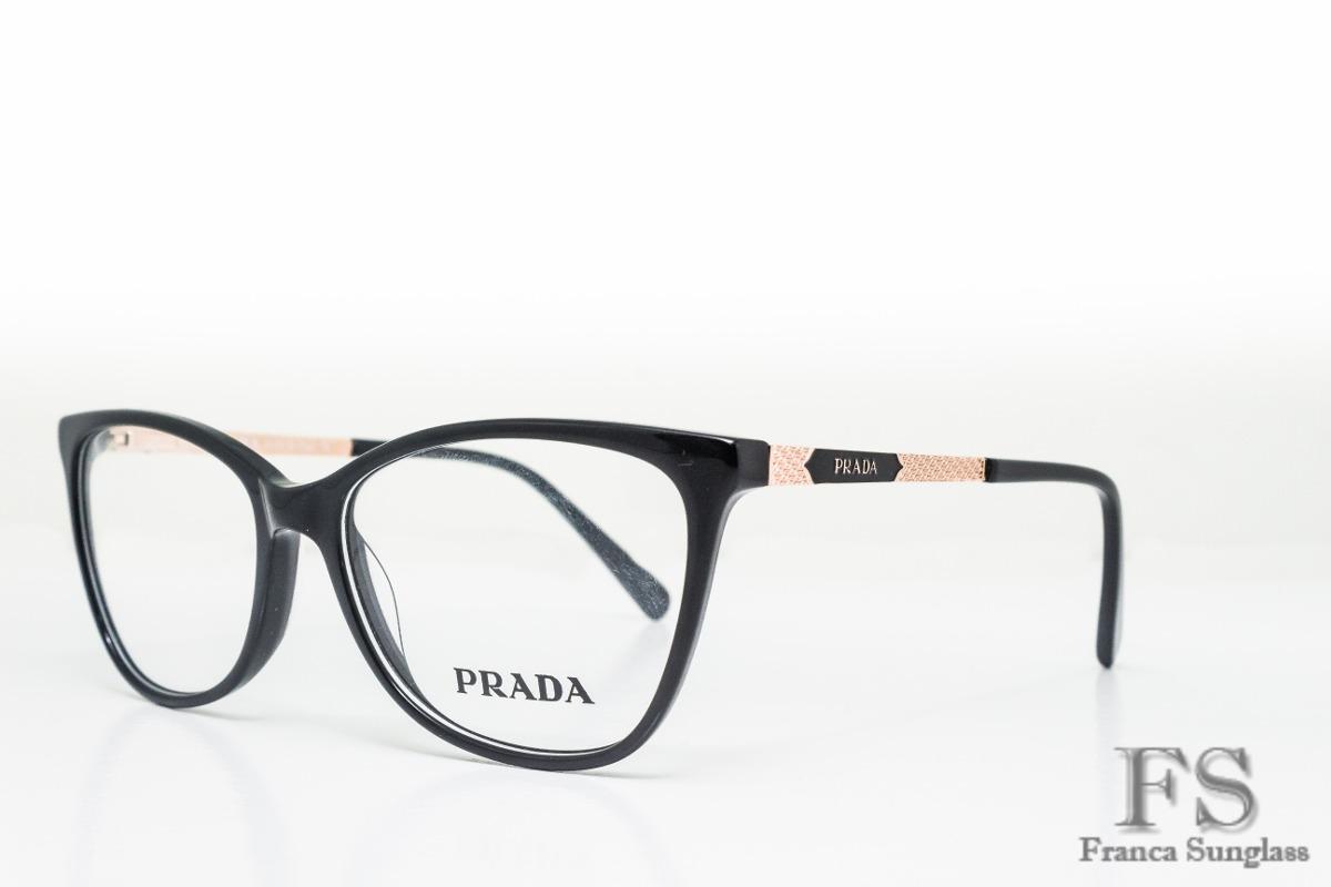 bb5d7f2dc óculos prada para grau acetato original fem frete grátis. Carregando zoom.