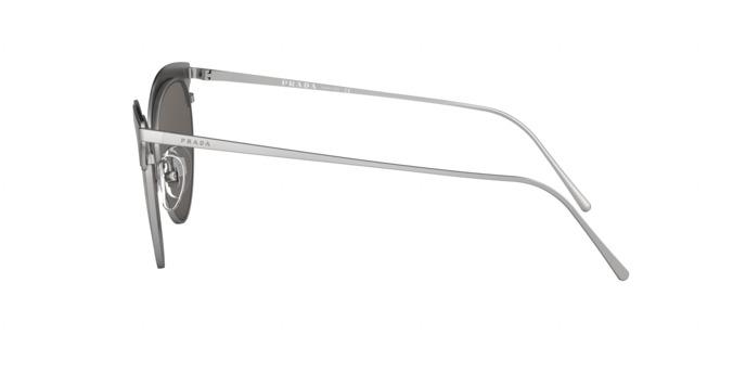 ace5a68a7066f Óculos Prada Pr60vs 421407 Preto Lente Espelhada Prata Cinz - R ...