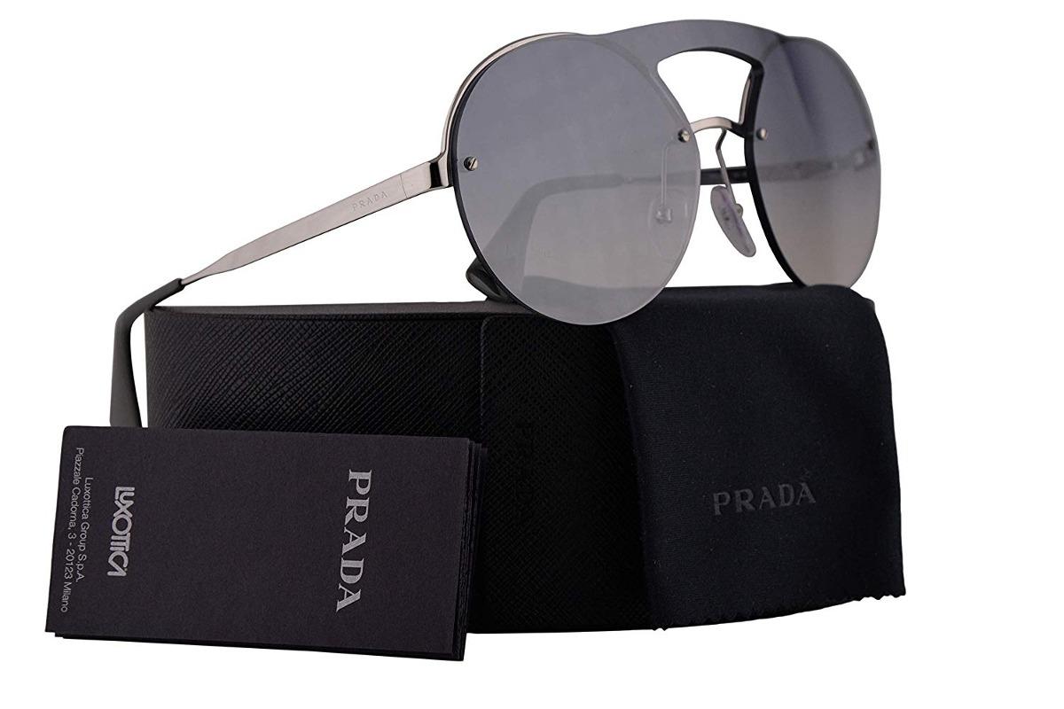 981d30907dc29 ... Óculos Prada Pr65ts Sunglasses Silver W g - 271386 - R 2.490,92 em  Mercado ...