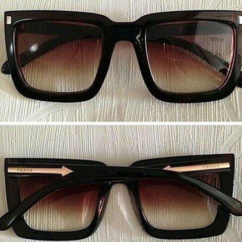 Oculos Prada Preto Marron Degradê Feminino Promoção - R  77,90 em ... 5f39133da6