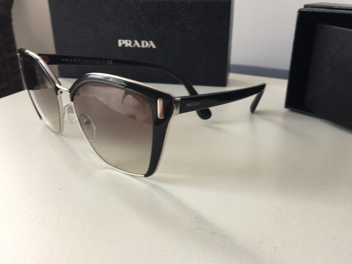 c357b9097 Óculos Prada Solar 56ts Direto Da Ótica - R$ 850,00 em Mercado Livre