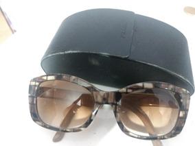 01321bc7d Oculos De Sol Prada Gatinho Tartaruga Spr 03n Cod 10 - Óculos De Sol ...