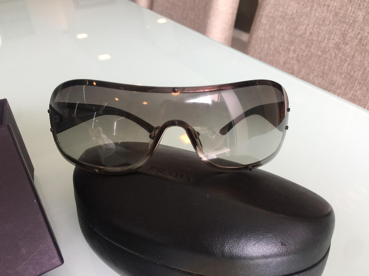 20438698cd8a7 óculos prada spr 63h aviador mascara preto. Carregando zoom.