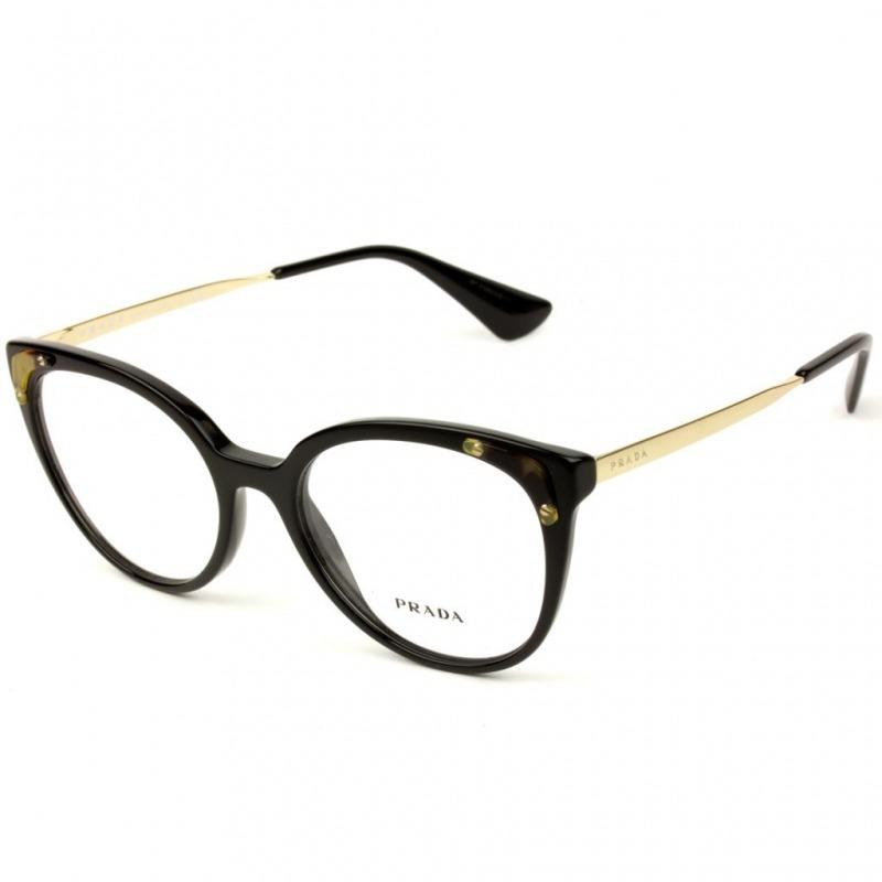 a9023a85e1498 óculos prada vpr 12u 1ab-1o1 53 - nota fiscal. Carregando zoom.