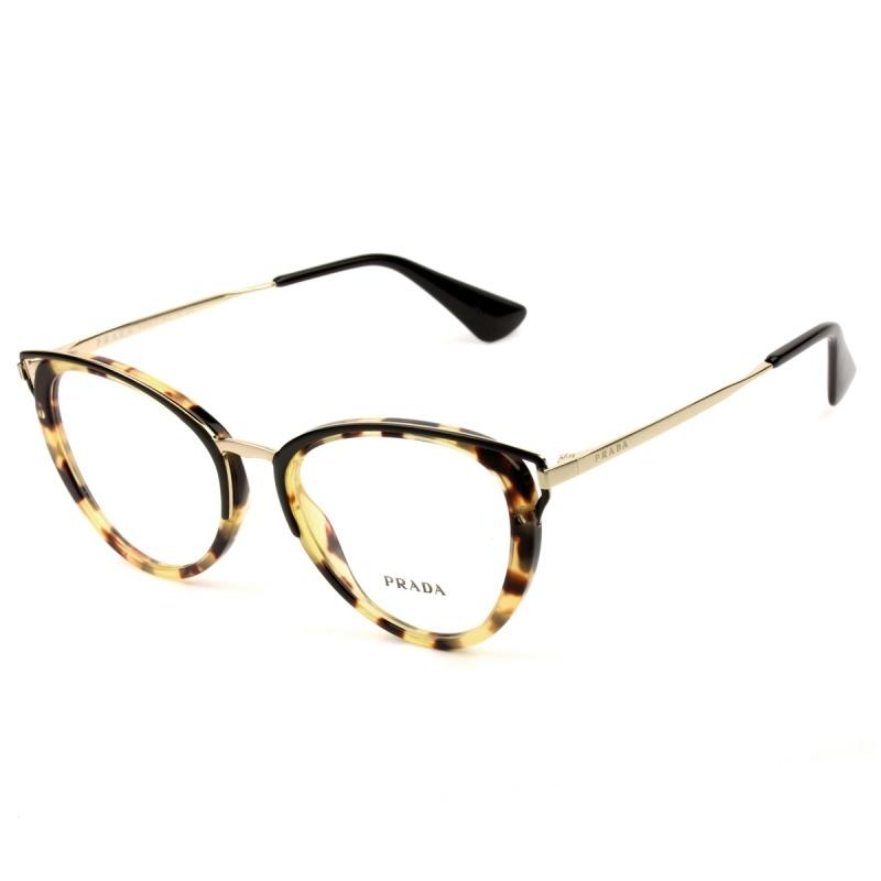 a78536709ae91 óculos prada vpr 53u 7s0-1o1 52 - nota fiscal. Carregando zoom.