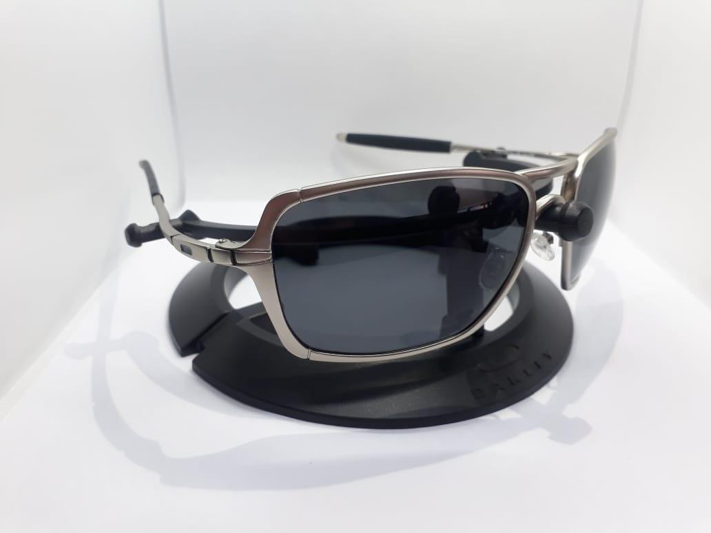 Óculos Prata Inmate Metal-x Masculino Polarizad Co00-1515 - R  149 ... 080ce35a1b