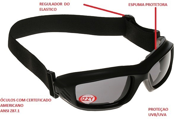 db5114a0b Óculos Prática De Esporte Com Elastico Ajustavel - R$ 150,00 em ...