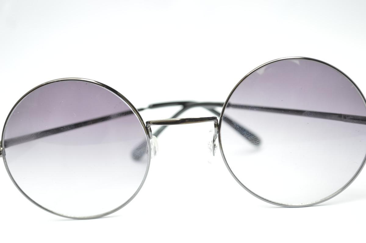 703b108532 óculos preto casual lentes redondas estilo john lennon d40. Carregando zoom.