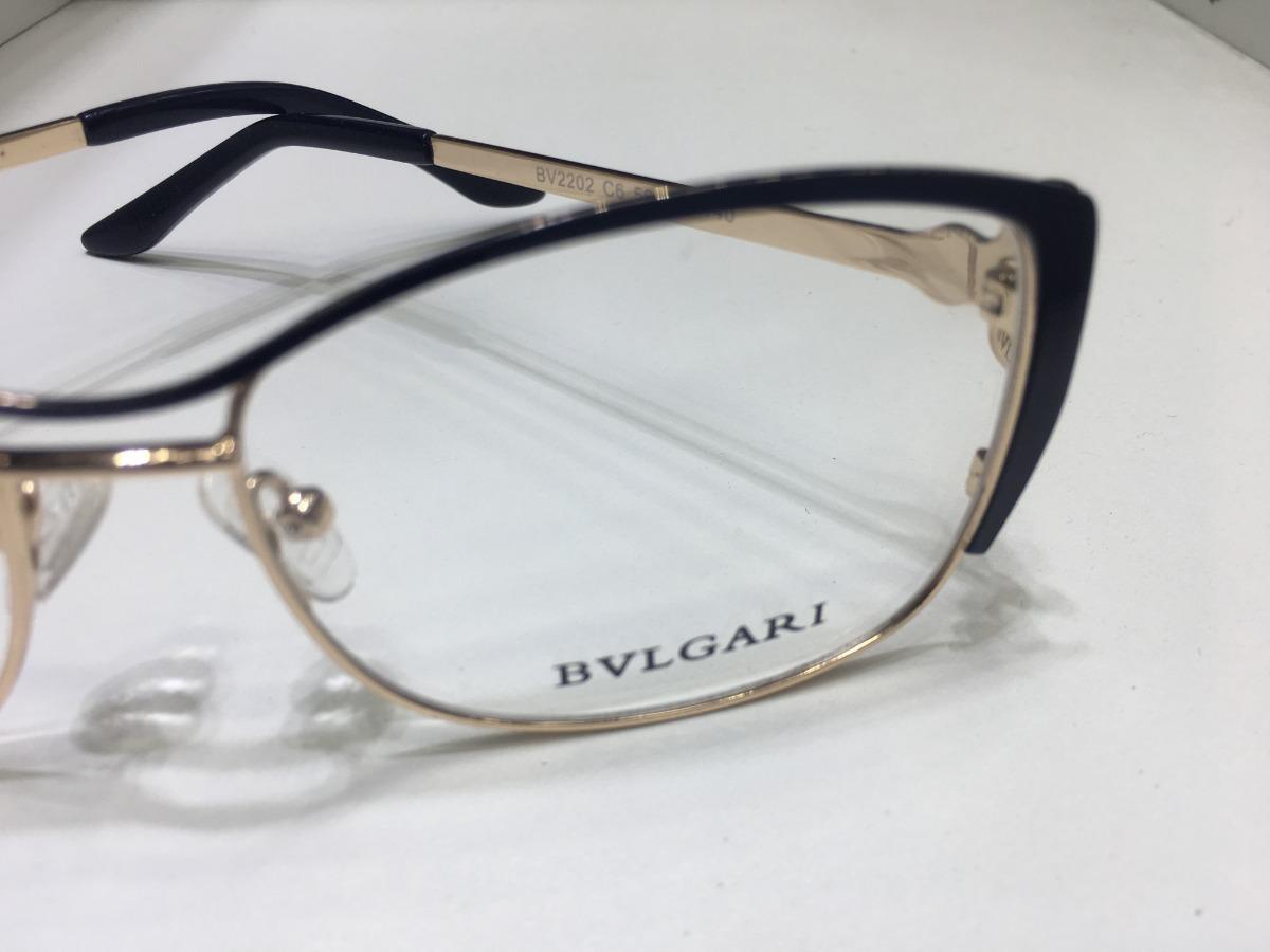 05334e33e717c oculos preto de grau bvlgari modelo gatinho feminino -bv103. Carregando zoom .