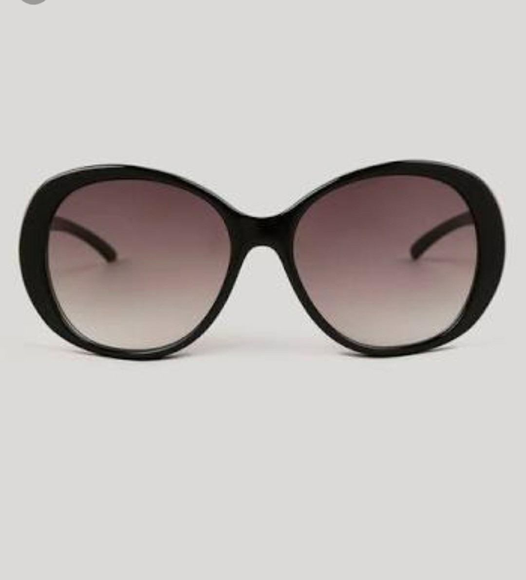 75663bb40b53f óculos preto feminino lente degrade tendencia grande redondo. Carregando  zoom.