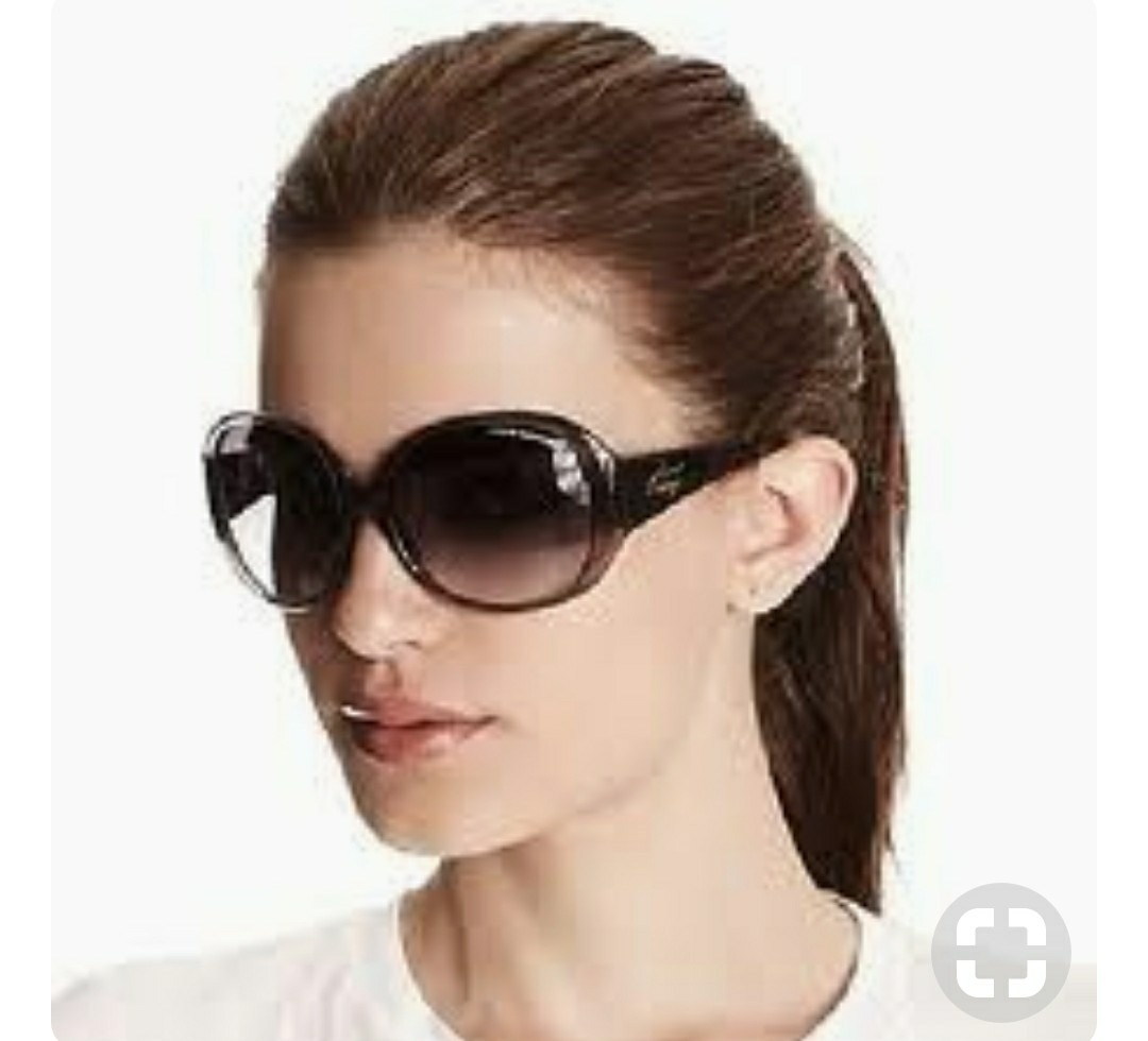 Óculos Preto Feminino Lente Degrade Tendencia Grande Redondo - R  33 ... 998123bcb9