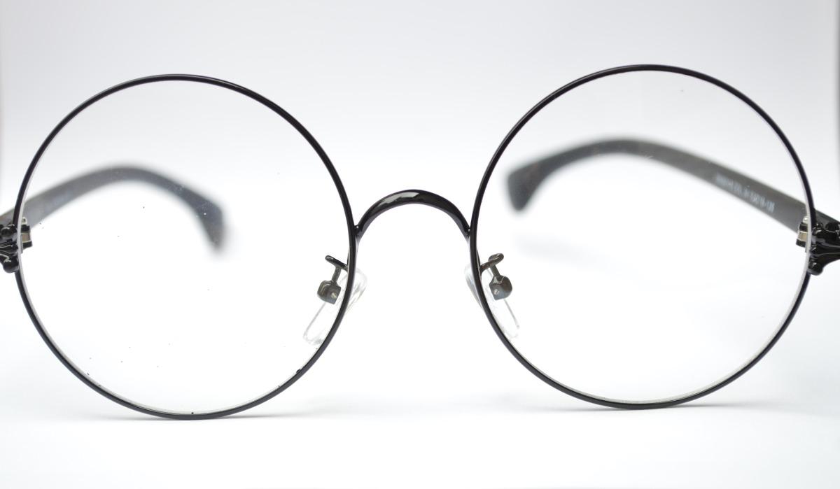 Oculos Preto Redondo Masculino P Grau - R  50,00 em Mercado Livre cb6752bf57