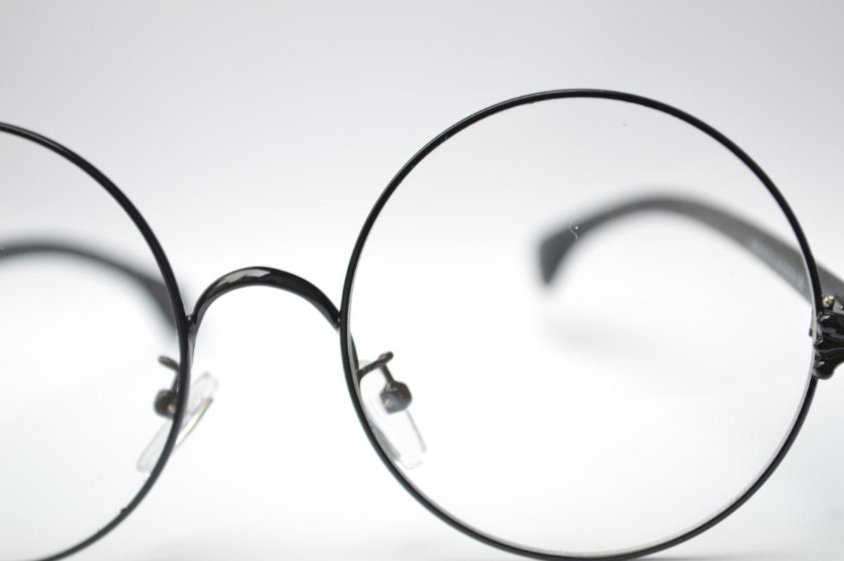 Oculos Preto Redondo Masculino P Grau - R  50,00 em Mercado Livre bec360b134