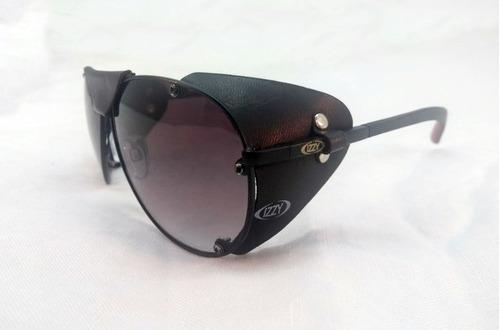 oculos proteçao lateral de couro