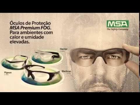 0fca7e286366a Oculos Protecao Msa Herrier Premium Fog 100% Antiembacante - R  120 ...