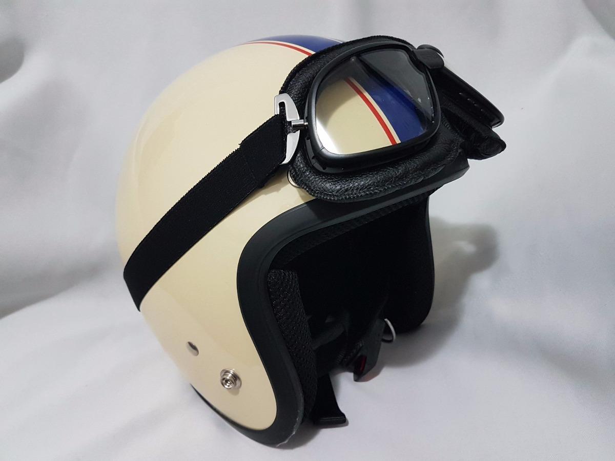 óculos proteção aviador   moto harley vintage café racer. Carregando zoom. 29e4d74e84