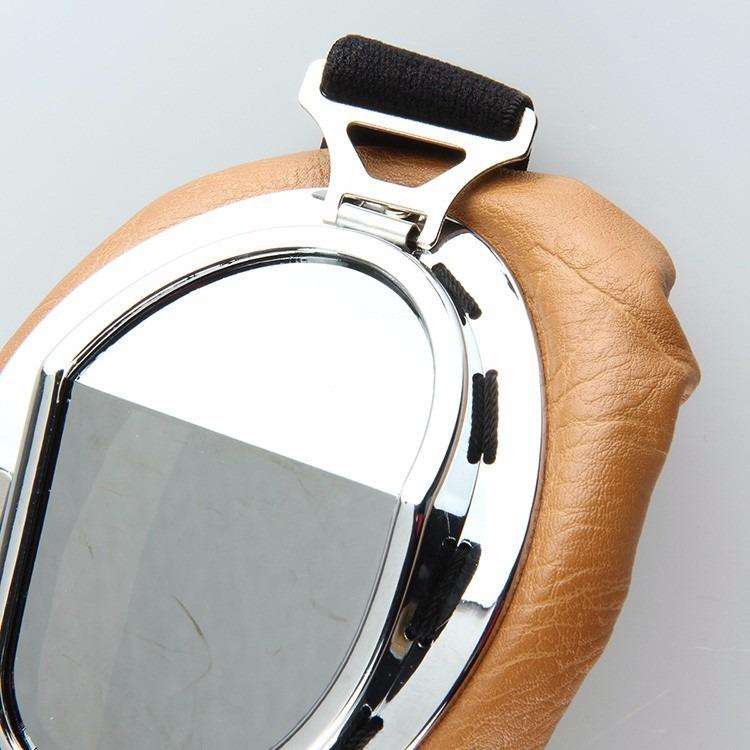 Óculos Proteção Aviador Moto Vintage Café Racer Cristal - R  80,00 ... d409f6832c