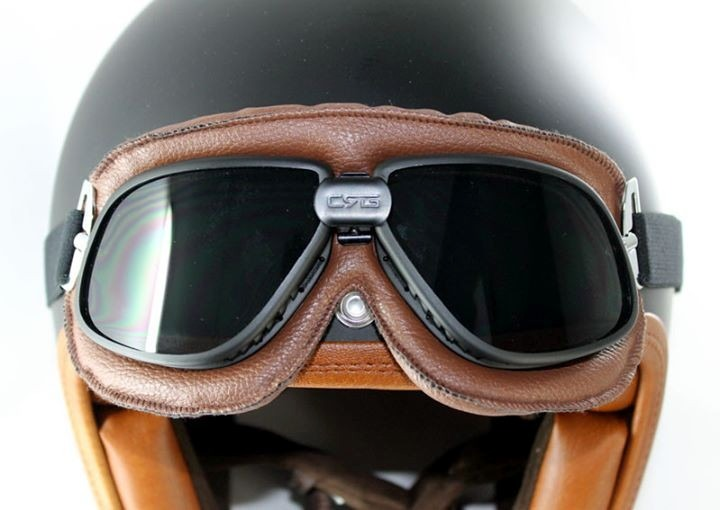 Óculos Proteção Aviador Moto Vintage Chopper Café Racer Fumê - R  79,90 em  Mercado Livre aae8c2770f