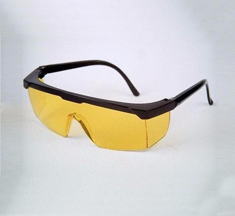 efa59a408fff2 Óculos Proteção Epi - Jaguar Amarelo