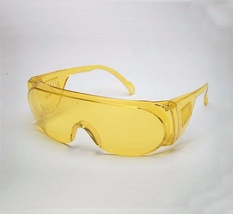 6e63c673c1473 Óculos Proteção Epi - Panda Amarelo