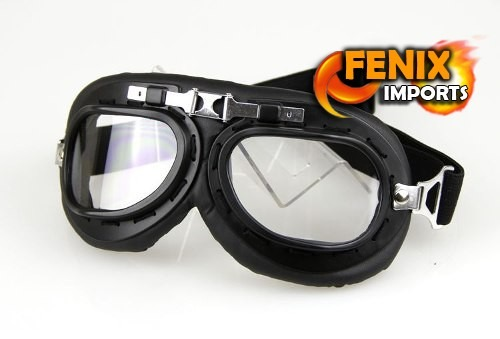 dfd41aee92ff0 Oculos Proteção Goggle Vintage Goggles Aviador Moto Aberto - R  49 ...