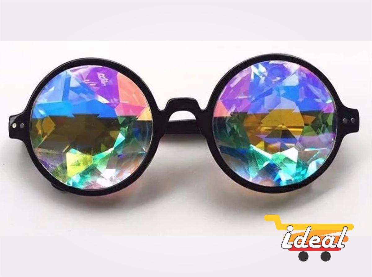 b8e537f72c2b8 óculos psicodélico rave festival acid prisma. Carregando zoom.