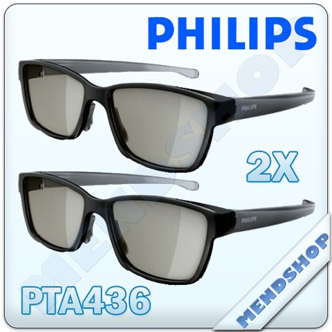 Óculos Pta436 Para Dual View Gaming Nas Tvs Philips Easy 3d - R  59 ... 3643a8b345