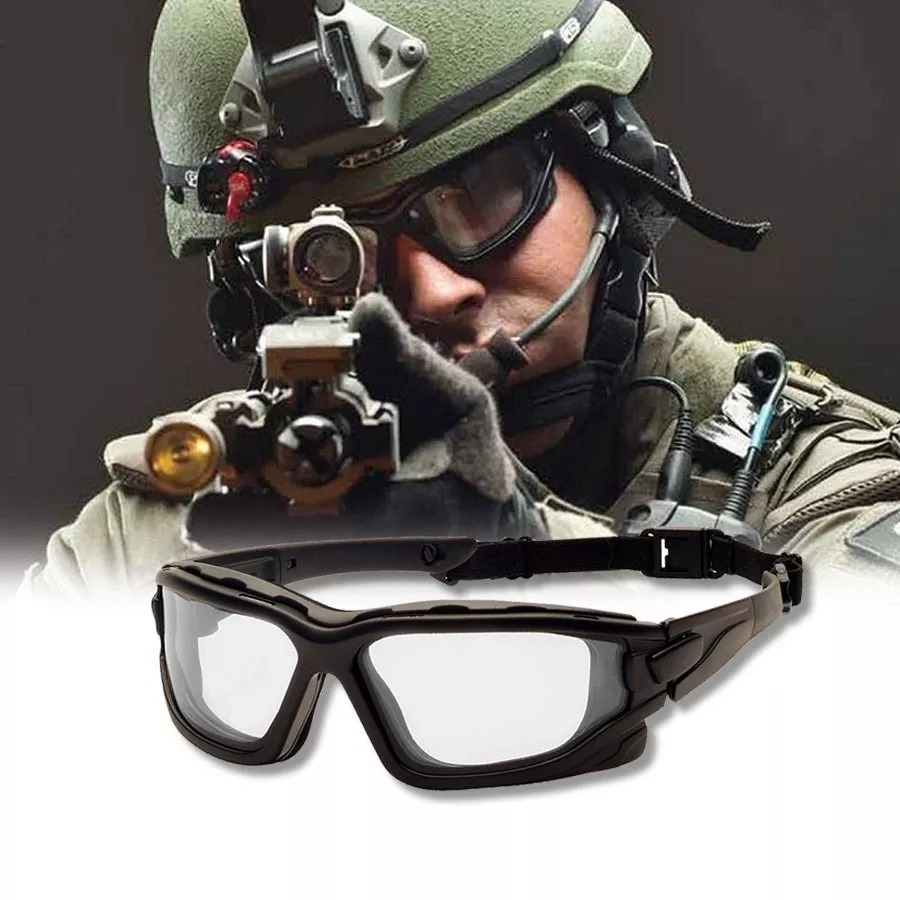 25300847d1095 oculos pyramex i-force tatico airsoft paintball lente dupla. Carregando  zoom.