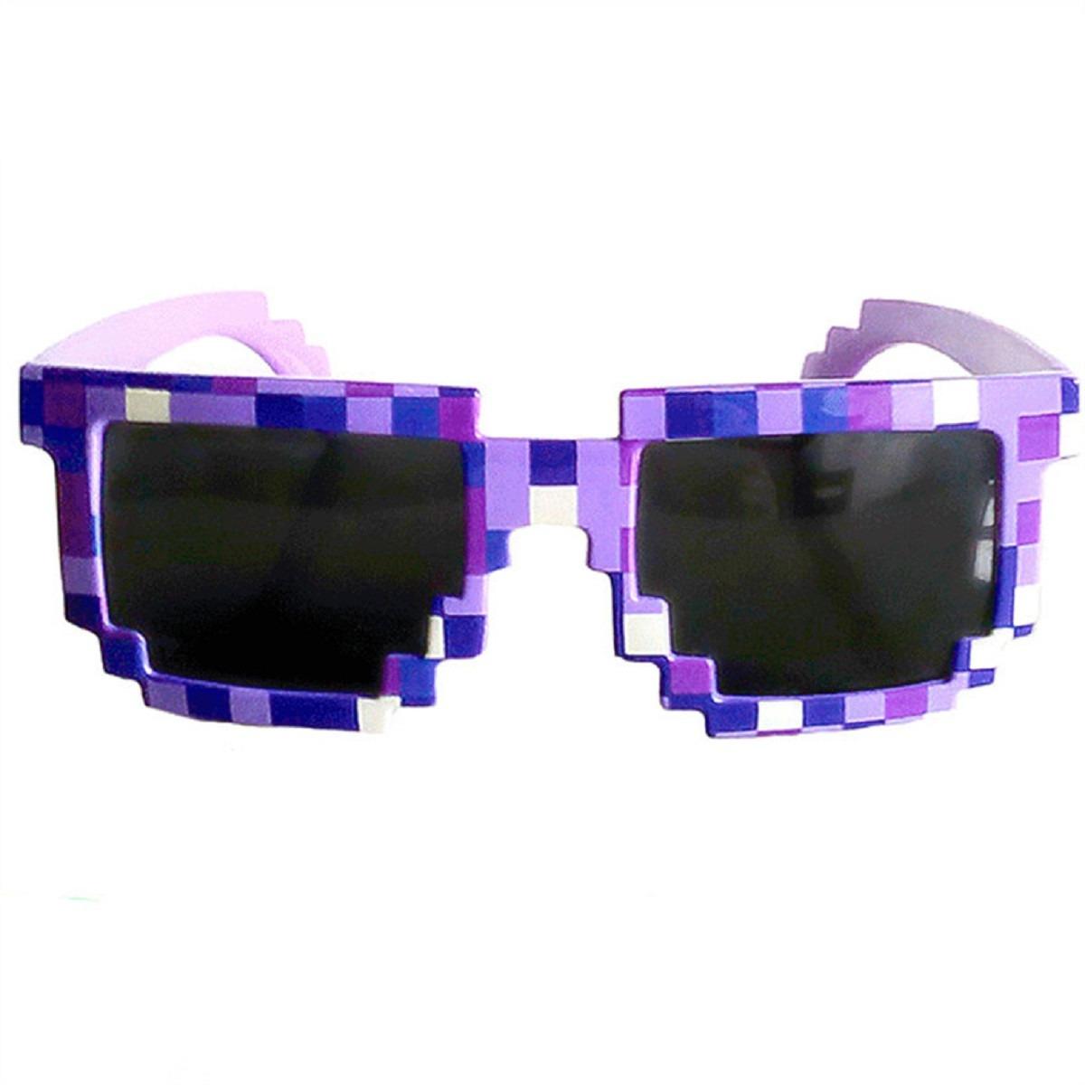 71160cd33 óculos quadrado adulto infantil mosaico nerd anime game show. Carregando  zoom.