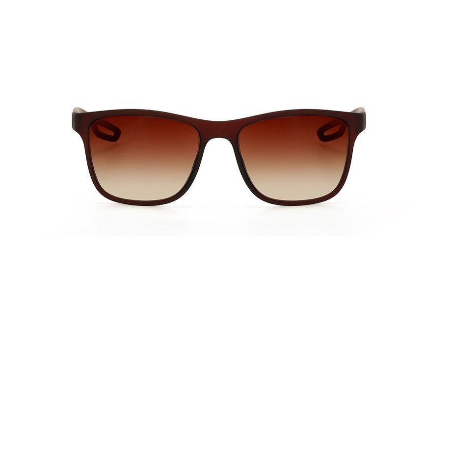 c57801596541b óculos quadrado de sol feminino cor degrade marrom fosco. Carregando zoom.
