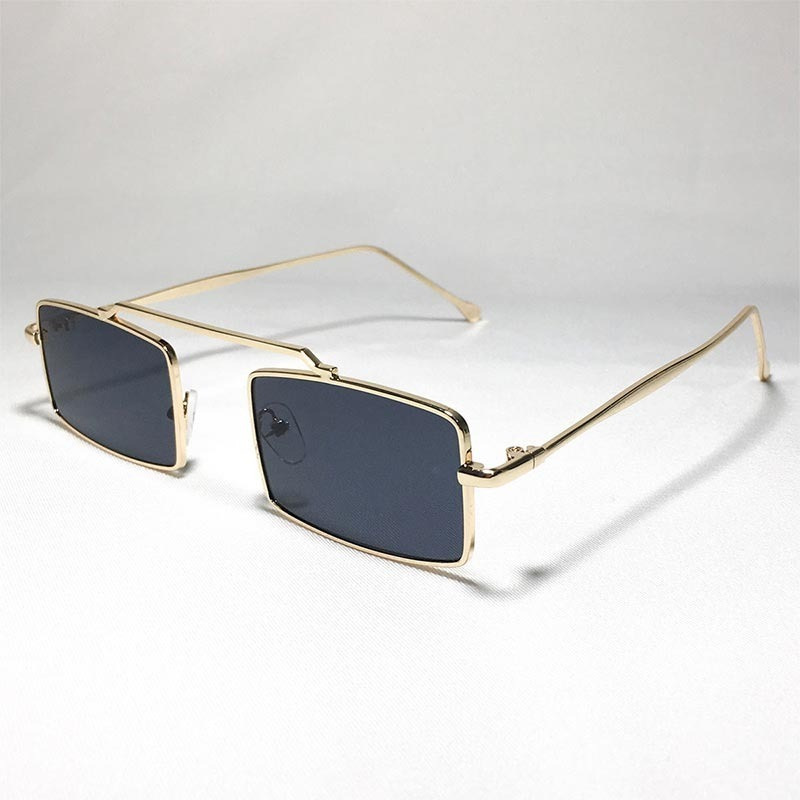 23c489909b139 óculos quadrado de sol retro vintage anos 90 preto. Carregando zoom.