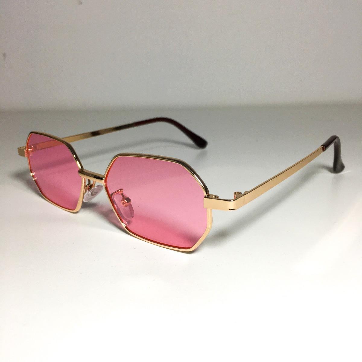 3dd7955930ba5 óculos quadrado de sol retro vintage anos 90 rosa. Carregando zoom.