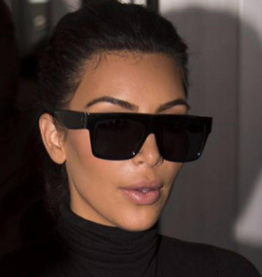 d0f480e91043d óculos quadrado estiloso preto kim kardashian moderno barato. Carregando  zoom.
