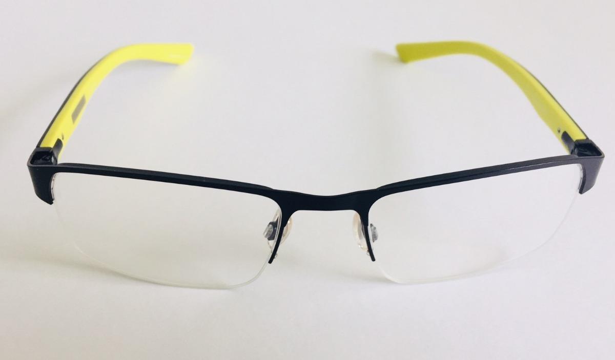 Carregando zoom... armação óculos de grau masculina quiksilver fender preta  top c4322c78dc