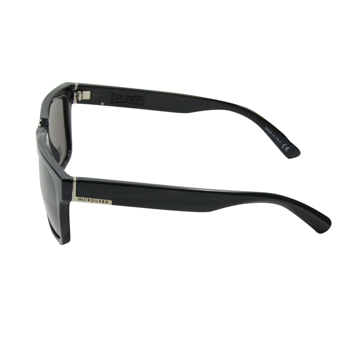 83aaaf94e8584 óculos quiksilver bruiser preto lente cinza. Carregando zoom.