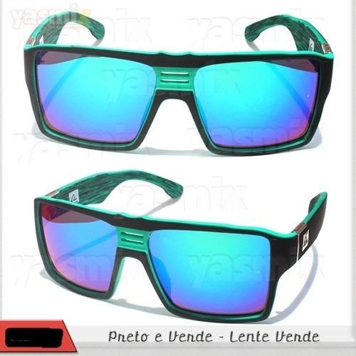 Oculos Quiksilver Enose Green Lente Espelhada Verde - R  55,90 em ... a45eaff71f