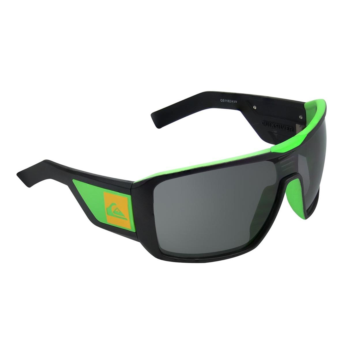 ac9e7e498f2b9 óculos quiksilver mackin black green. Carregando zoom.