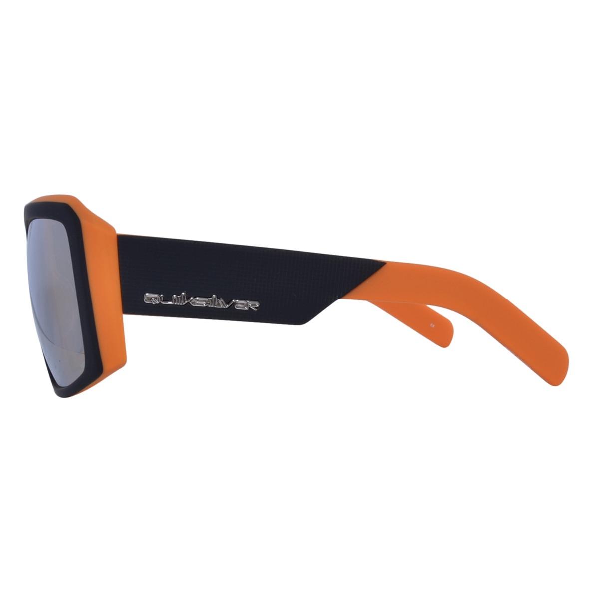 b70d38b87642d Óculos Quiksilver The Empire Preto Laranja - R  149,90 em Mercado Livre